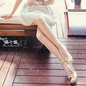 襪子女 絲襪 連身褲襪 復古蕾絲連褲襪女 秋冬包芯絲薄款顯瘦豎條紋打底襪【多多鞋包店】ps1501