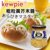 日本 KEWPIE QP 粗粒黃芥末醬 90g 黃芥末醬 芥末醬 抹醬 調味醬 調味