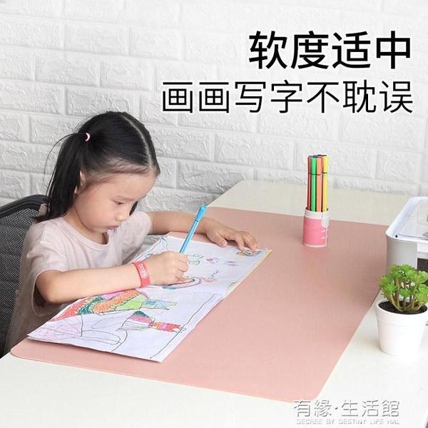 相伴一生學生寫字墊可定制防水超大滑鼠墊電腦書桌墊辦公桌墊訂做AQ 有緣生活館