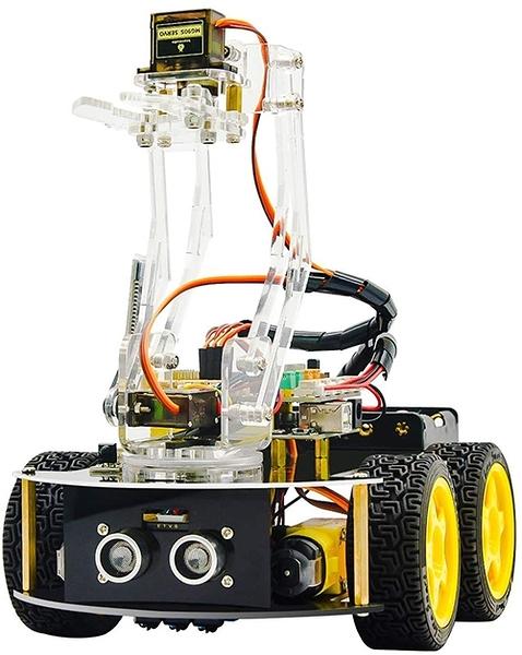 [2美國直購] 多功能智能機器人車 KEYESTUDIO 4WD Bluetooth Multi-Functional Smart Robot Car