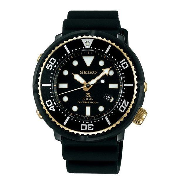 限量【時間光廊】SEIKO 精工錶 PROSPEX 光動能 鮪魚罐頭 V147-0BB0SD 公司貨 SBDN028J