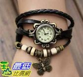 Fashion Acsories Trial Order New Quartz Fashion Weave Wcesrap Around Leather Bracelet Lady Woman Wrist Watch