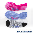 SKECHERS 女休閒隱形襪 22cm~26cm-條紋粉x圓點粉藍x條紋黑白