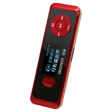 平廣 送繞線收袋 人因 人因科技 UL432 UL-432 8G 8Gb 黑紅色 MP3 隨身聽 插卡 USB直插 保固一年 優創見