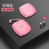 行動電源 20000 迷你行動電源大容量 移動電源 超薄小巧便攜通用蘋果小米手機通用