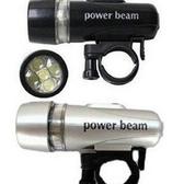 ♥巨安網購♥【ML106082425】5LED山地自行車照明前燈單車裝備銀色黑色