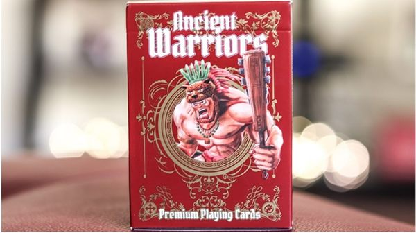 【USPCC撲克】Ancient Warriors (Red) 撲克 S103049424