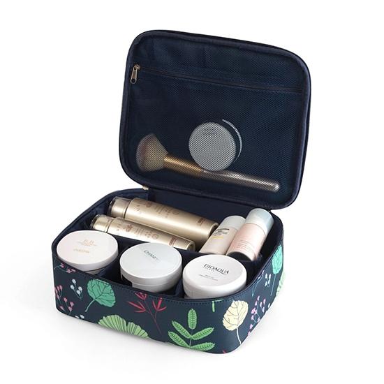 化妝包 洗漱包 手提包 收納包 收納袋 盥洗  旅行用品  防潑水 包中包 北歐風化妝包【T10】MY COLOR