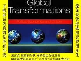 二手書博民逛書店Global罕見TransformationsY255562 David Held Stanford Univ