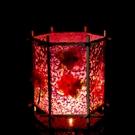 元宵兒童古風燈籠diy手工制作材料包中式宮燈仿古手提花燈紙發光 怦然心動