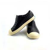 中童 Native JEFFERSON JUNUOR 防水洞洞懶人休閒鞋《7+1童鞋》6044 黑色