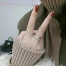 戒指 chic極簡可轉動轉運戒指女純銀滿鑽韓國時尚個性簡約網紅食指戒 星河光年