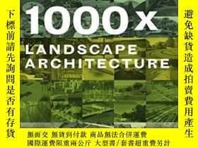 二手書博民逛書店1000x罕見Landscape ArchitectureY36