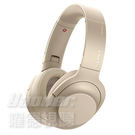 【曜德】SONY WH-H900N 淺金 降噪 觸控 無線藍芽 耳罩式耳機 /送收納袋