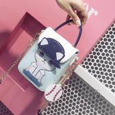 包包新品小包包鍊條包迷你手機包可愛斜背包女 全館85折