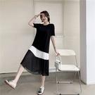 L-3XL胖妹妹大碼洋裝連身裙~大碼女裝...