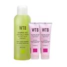 【洗護三件組】義大利原裝 WTB昂賽芙 洗髮精 1000ml +亞麻籽護髮膜250mlx2