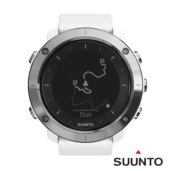 SUUNTO Traverse 健行與徒步登山越野GPS錶-白色【屈臣氏】