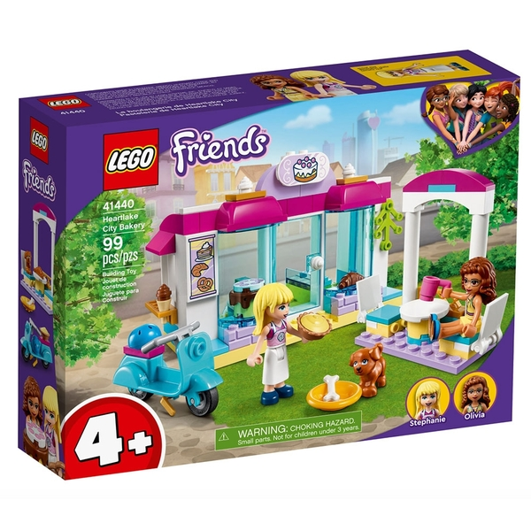 LEGO樂高 Friends系列 心湖城麵包店_LG41440