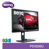 【免運費】BenQ 明基 PD3200U 32型 UHD 4K 專業色彩管理 顯示器 / IPS 10bit 面板