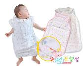 六層紗布睡袋夏季空調睡袋/防踢被/嬰兒睡袋 77CM
