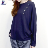 【秋冬新品】American Bluedeer - 垂墜蝙蝠袖上衣