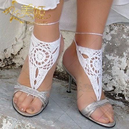 衣美姬♥歐美 針織純棉 腳上 飾品 沙灘 海邊涼鞋 必備 飾品 熱賣款