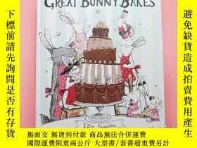 二手書博民逛書店Great罕見Bunny Bakes l Ellie Snowdon 澳大利亞插畫師 l 狼扮兔裝Y39012