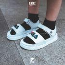 IMPACT FILA Slide Slip Beach Sandals 涼鞋 韓國 白 藍 紅 FS1SIB2020X