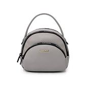 KANGOL 灰色手提側背兩用小包-NO.6055301011