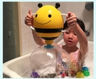 抖音洗澡玩具小蜜蜂噴泉漏水玩具蜜蜂花灑沙灘戲水玩具 衣櫥秘密