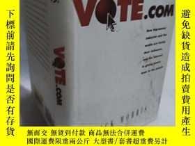 二手書博民逛書店罕見實物拍照;Vote.comY27656 Morris, Di