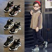 童鞋男童運動鞋新款秋冬季二棉鞋老爹鞋網紅鞋中大童兒童鞋子