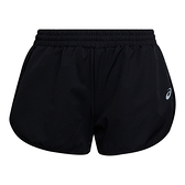 Asics Luminous 3.5吋 [2012B510-001] 女 跑步 短褲 運動 休閒 單層 夜光 亞洲版 黑