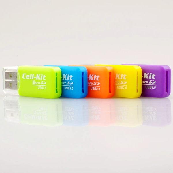 Micro SD 轉卡器 USB2.0 記憶卡 轉接器