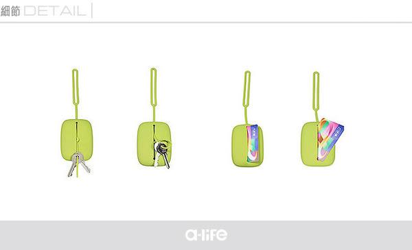 【a-liFe】多功能矽膠卡包 四色可選  (現貨)