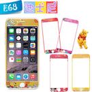 E68精品館 正版迪士尼 IPHONE 5/6S/6+ /C5/NOTE4 9H 鋼化玻璃貼 鋼膜 螢幕保護貼 彩貼貼膜