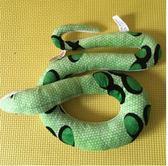 外貿原單仿真毛絨玩具盤蛇生肖假蛇毛絨公仔玩偶兒童生日禮物限時八九折