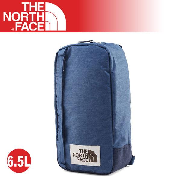【The North Face 6.5L 多功能單肩斜背包《蔭藍》】3G8K/耐磨側背包/隨行提包/零錢包