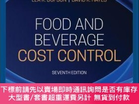 二手書博民逛書店【罕見】Food And Beverage Cost Control, 7th Edition, Asia Edi
