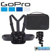 【免運費】 GoPro AKTAC-001 運動套件(含胸前綁帶+收納盒) hero7 hero6 hero5【台閔公司貨】