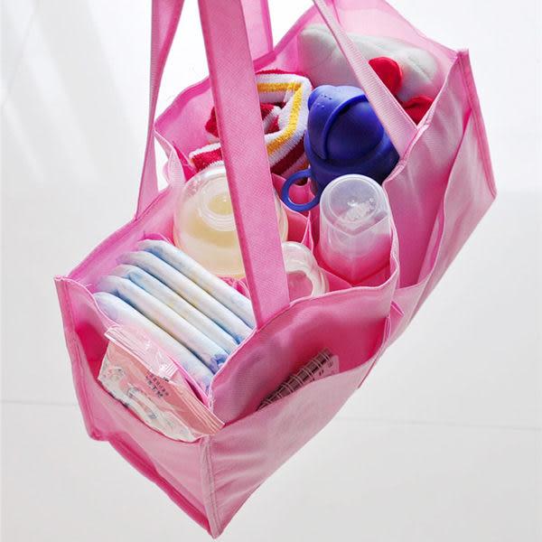 【BlueCat】第二代加強型不織布手提大容量包中包媽媽包 (長方形)
