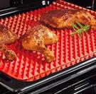 金字塔矽膠墊 矽膠BBQ微波爐烤箱燒烤墊 烤雞盤 矽膠燒烤墊─預購CH1003