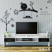 北歐電子創意個性客廳掛鐘時尚田園鐘表宜家靜音家用鳥時鐘 ys7335『毛菇小象』