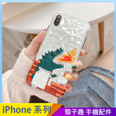 噴火龍鑽石紋 iPhone XS XSMax XR i7 i8 i6 i6s plus 卡通手機殼 保護殼保護套 全包邊軟殼 四角加厚防摔