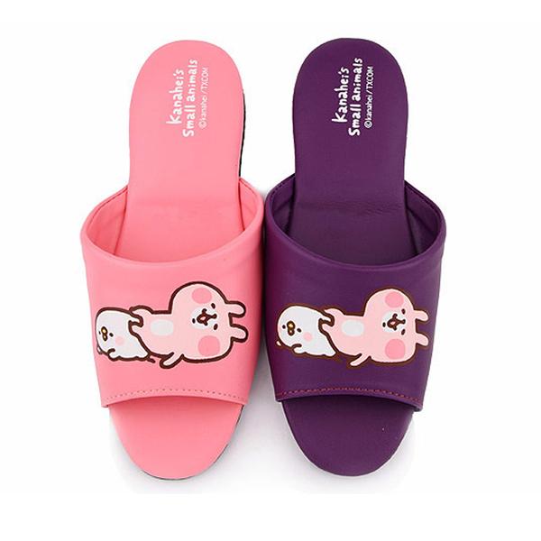 童鞋城堡-卡娜赫拉 成人款室內拖鞋KI0559-粉/紫 (共二色)