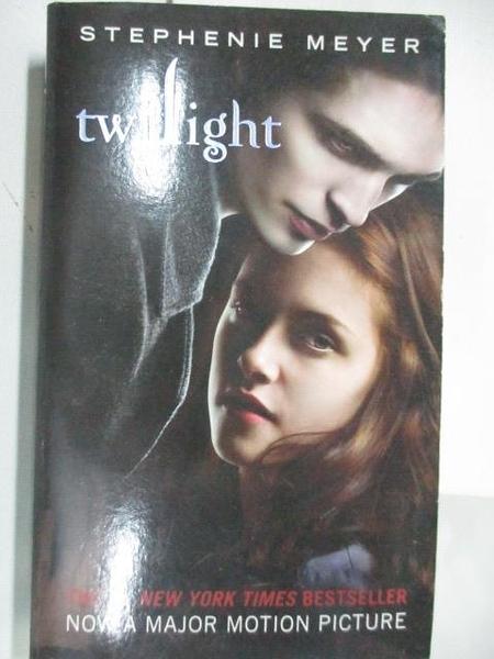 【書寶二手書T1/原文小說_ALP】twilight_#1_Stephenie Meyer