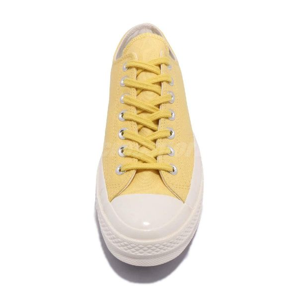 Converse Chuck Taylor All Star 70 Heritage Court 黃 鵝黃 奶油底 1970 男鞋 女鞋 低筒 帆布鞋【PUMP306】 160494C