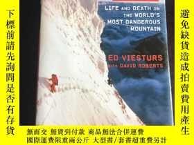 二手書博民逛書店k2罕見life and death on the world most dangerous mountain 最