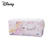 【日本正版】長髮公主 皮質 亮粉 筆袋 鉛筆盒 化妝包 收納包 樂佩 魔髮奇緣 迪士尼 Disney - 098752